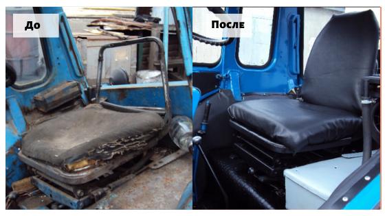 Восстановление тракторов ЮМЗ, МТЗ, экскаваторов